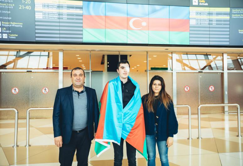 В Азербайджан вернулись трое ветеранов, отправленных на лечение в Турцию Фондом YAŞAT -<span class=