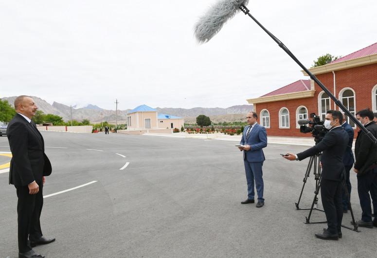 Президент Азербайджана: Нахчыван полностью обеспечивает себя электроэнергией и использует возобновляемые источники