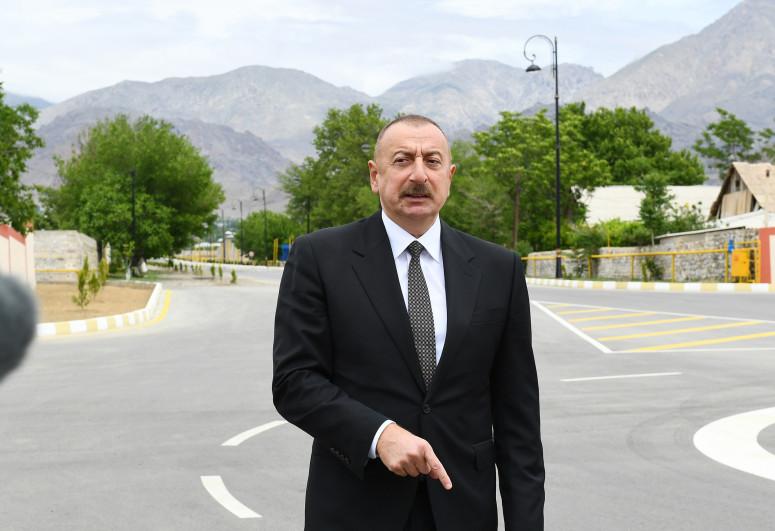 Ильхам Алиев:  40-километровый Зангерзурский коридор, отделяющий Зангилан от Нахчывана, должен быть и будет открыт