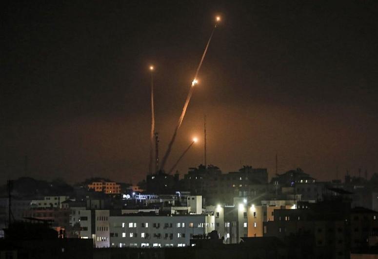 Israel: Gazan militants fire over 150 rocket and mortar rounds toward Israel