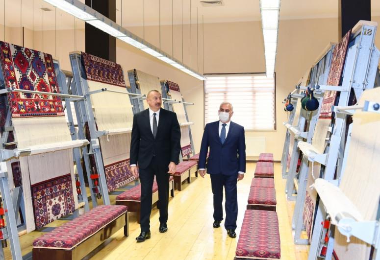 Президент Ильхам Алиев принял участие в открытии Нахчыванского филиала ОАО «Азерхалча»-<span class=