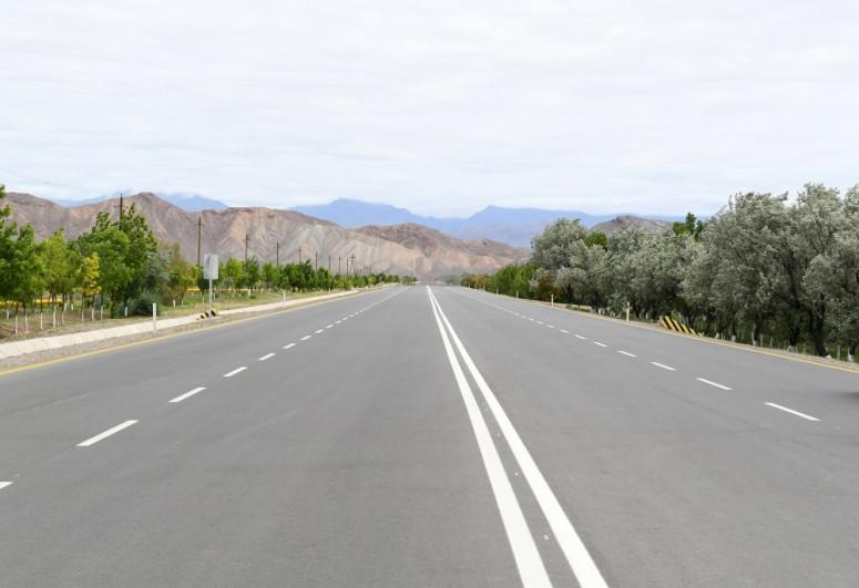 Президент Ильхам Алиев принял участие в открытии магистрали Джульфа-Ордубад-<span class=