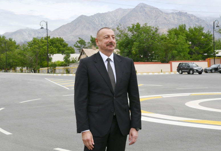 """President Ilham Aliyev was interviewed by Azerbaijan Television-<span class=""""red_color"""">UPDATED</span>"""