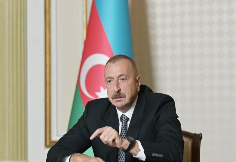 Президент Ильхам Алиев: С точки зрения военного аспекта мы можем считать ситуацию уже нормализованной