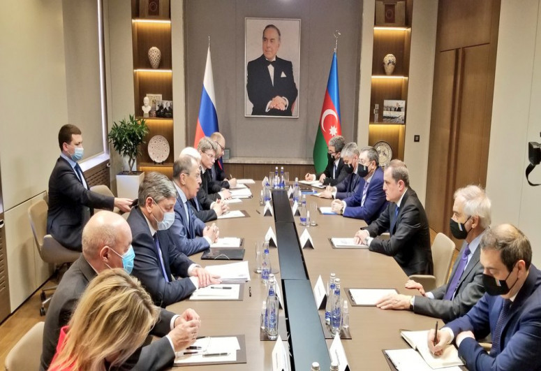 """Extended meeting being held between Jeyhun Bayramov and Lavrov-<span class=""""red_color"""">UPDATED</span>"""