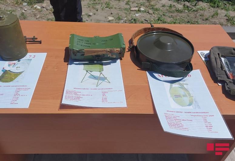 Журналисты посетили Центр инженерных укреплений отдельной Губадлинской пограничной дивизии