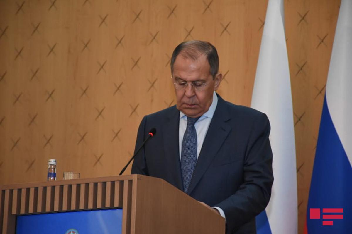 """Lavrov: """"Azərbaycanla münasibətlərimiz, birgə layihələrimiz daha da genişlənəcək"""""""