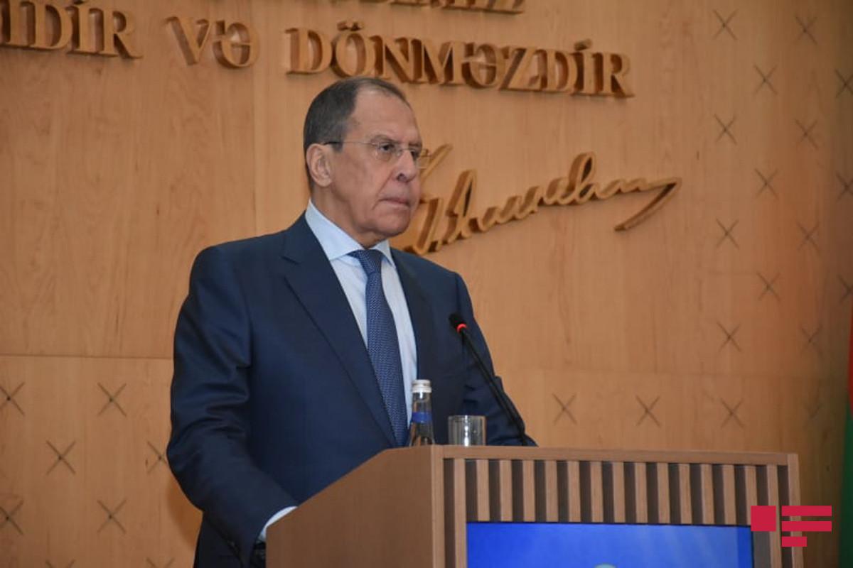 """Lavrov: """"Moskva Putin-Bayden görüşünün keçirilməsinə müsbət yanaşır, ABŞ-la dialoq vacibdir"""""""