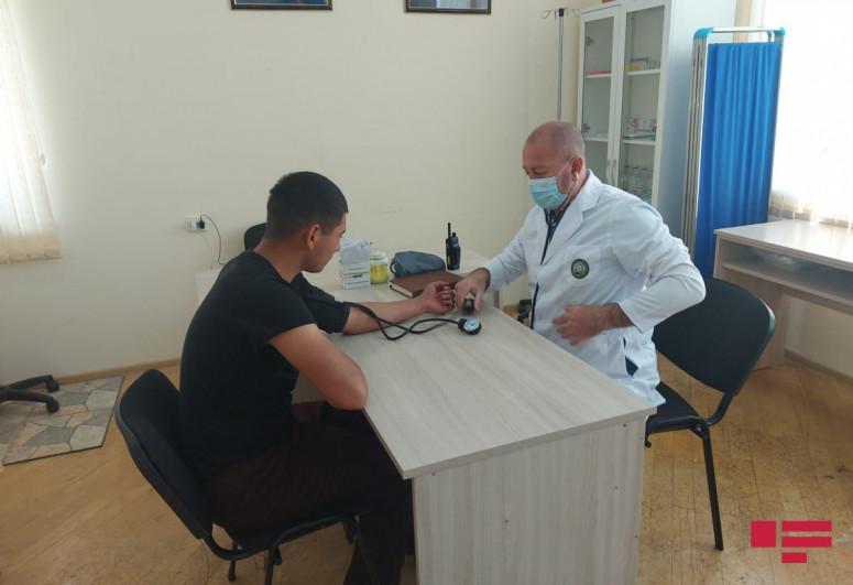 Представители СМИ ознакомились с военным госпиталем в селе Газйан Губадлинского района-<span class=