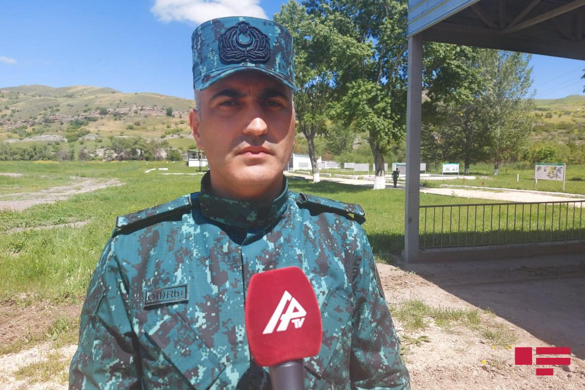 """Polkovnik-leytenant: """"Mahmudlu Hərbi Poliqonunda döyüş hazırlığının yüksəldilməsi üçün hər cür şərait var"""""""