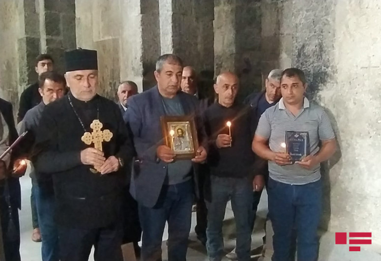 """Udis celebrated Pascha holiday at """"Agoghlan"""" monastery in Lachin-<span class=""""red_color"""">PHOTOLENT</span>-<span class=""""red_color"""">VIDEO</span>"""