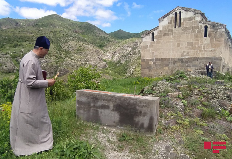 """Udis celebrated Pascha holiday at """"Agoghlan"""" monastery in Lachin-<span class="""