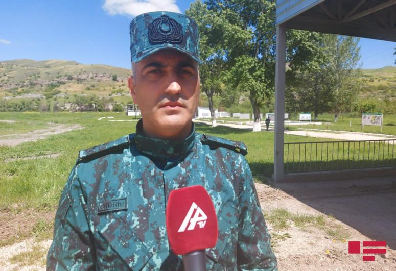 Представитель ГПС: На полигоне Махмудлу созданы все условия для повышения боевой готовности