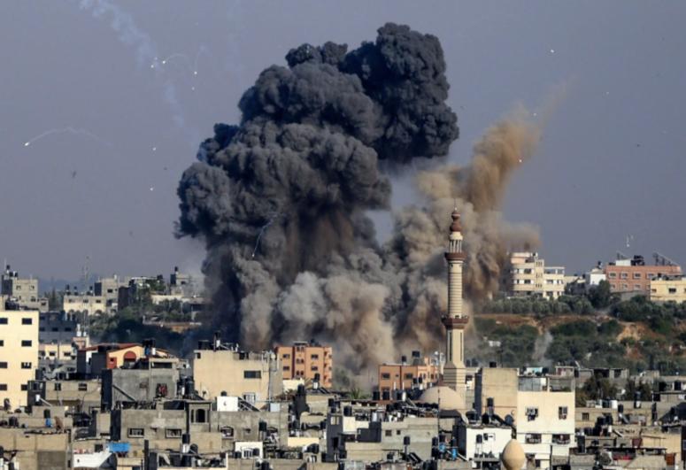 Israeli airstrikes kill at least 20 Hamas and Islamic Jihad militants in Gaza,