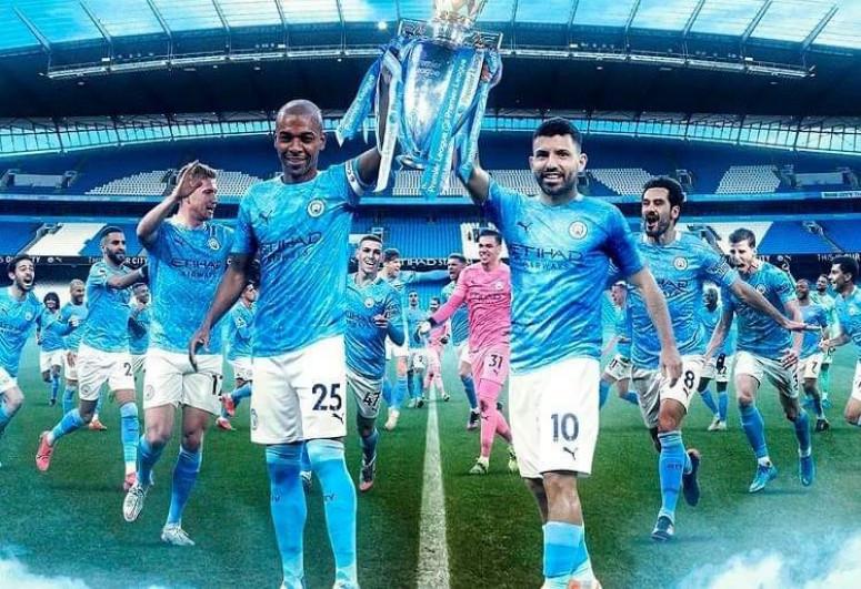 «Манчестер Сити» в седьмой раз стал чемпионом Англии