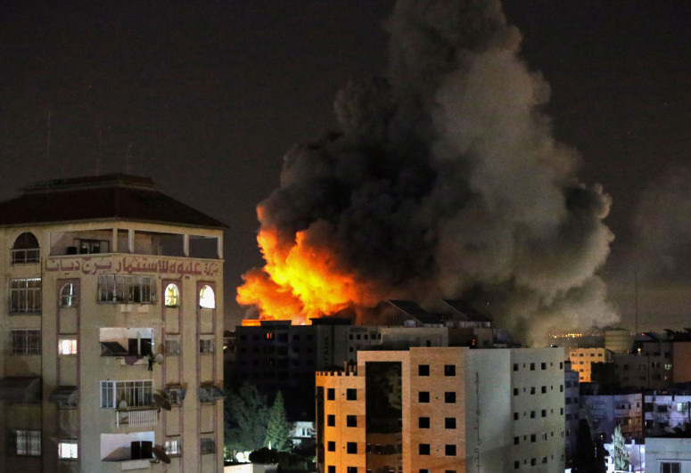 """Death toll rises to 49 in Israel-Palestine clash-<span class=""""red_color"""">UPDATED-1</span>"""