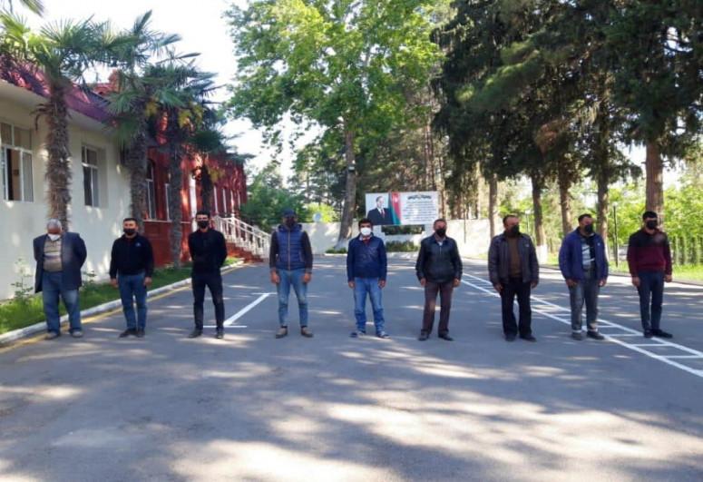В Агдаме задержаны 9 человек, пытавшихся проникнуть на освобожденные территории