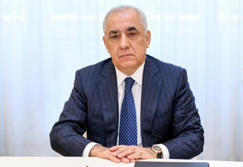Azerbaijani PM extends condolences to Mikhail Mishustin