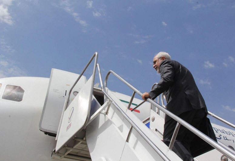 Iran FM off to Syria