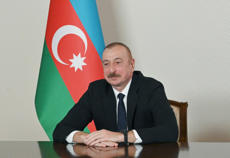 President Ilham Aliyev laid foundation stone for new mosque in Shusha