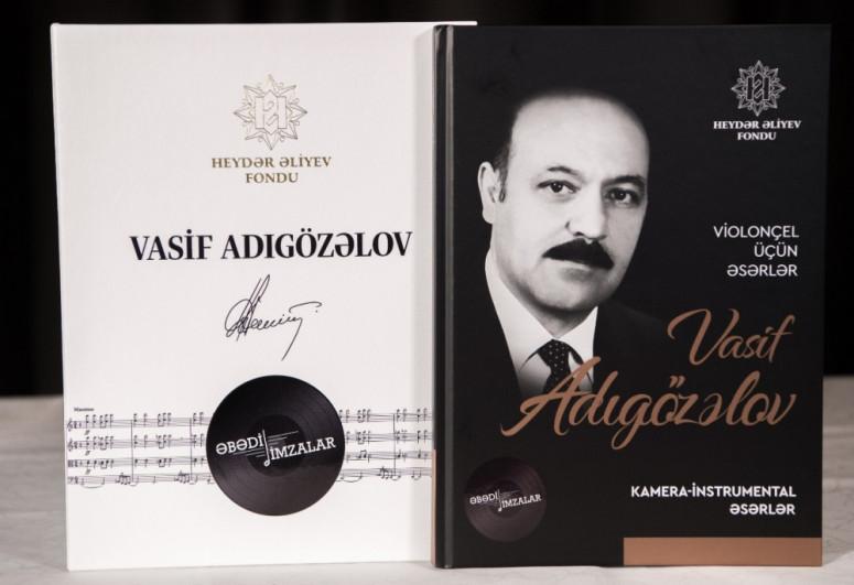 Heydər Əliyev Fondunun nəşr etdiyi Azərbaycan bəstəkarlarının əsərlərinin notlarının toplusu Şuşada təqdim edilib