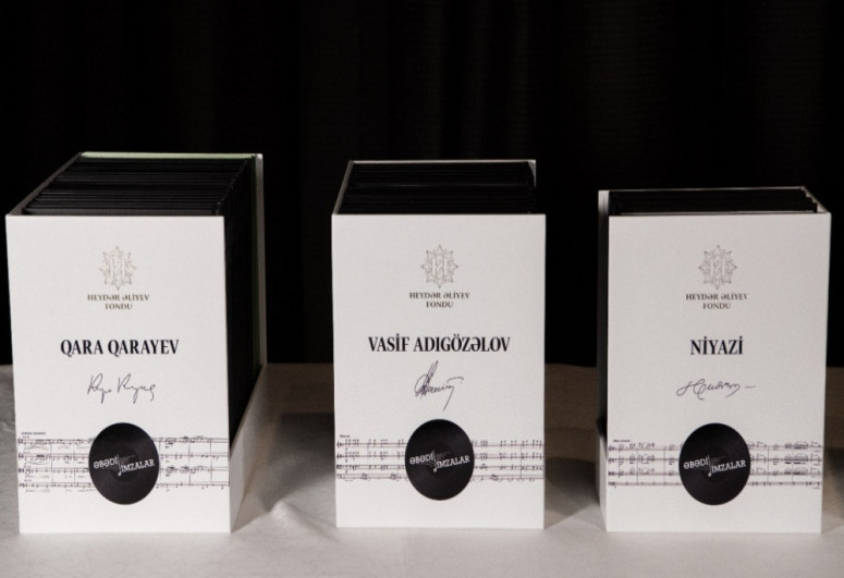 Collection of notes of Azerbaijani composers