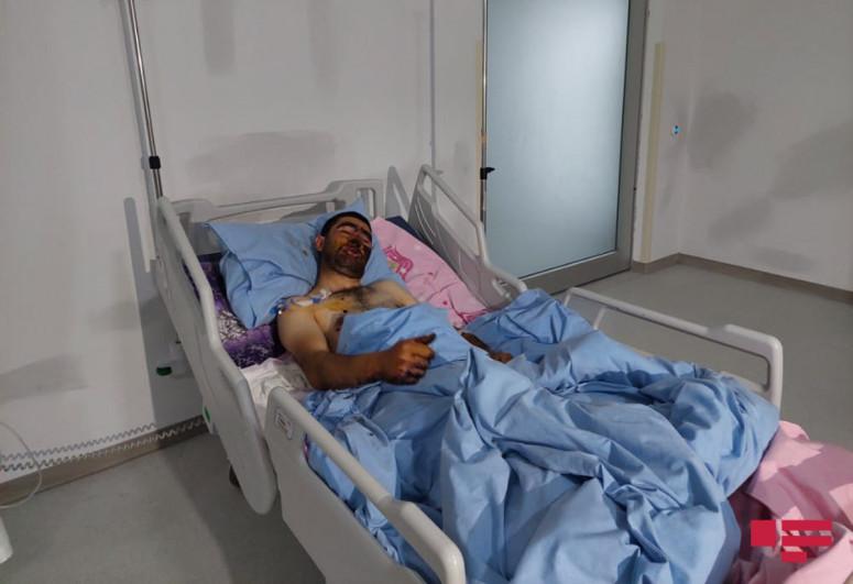 В Гядабее два мирных жителя подорвались на мине