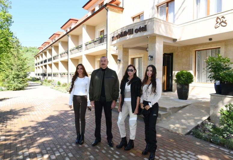 """Khari Bulbul"" Hotel inagurated in Shusha after reconstruction"
