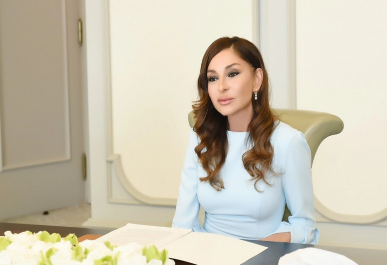 Azərbaycanın Birinci vitse-prezidenti Mehriban Əliyeva Şuşadan paylaşım edib