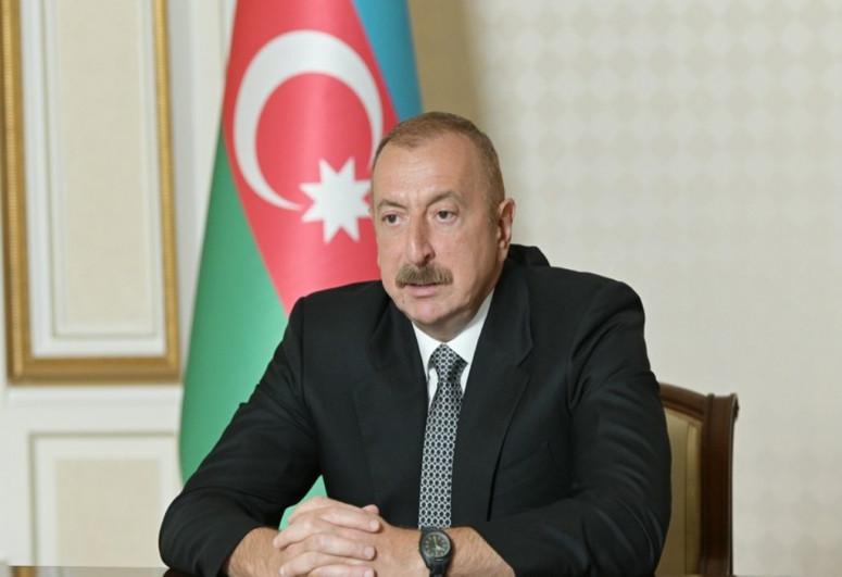 President Ilham Aliyev inspected Khan gizi Natavan's palace