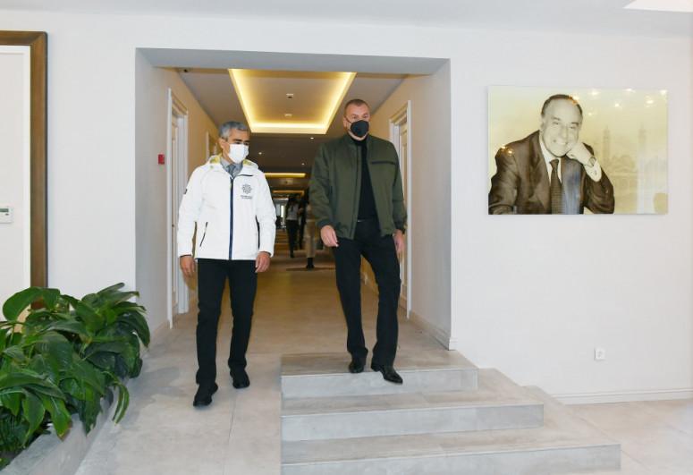 В Шуше состоялось открытие после реконструкции отеля «Хары Бюльбюль»-<span class=