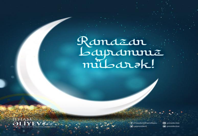 Azerbaijani President made post on Ramadan Holiday