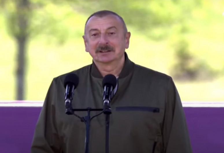 Президент Азербайджана: Армяне, как ни старались, не смогли стереть азербайджанский дух Шуши