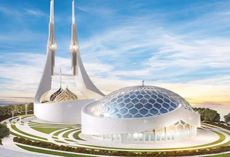"Обнародован проект нового комплекса мечети в Шуше -<span class=""red_color"">ФОТО</span>"