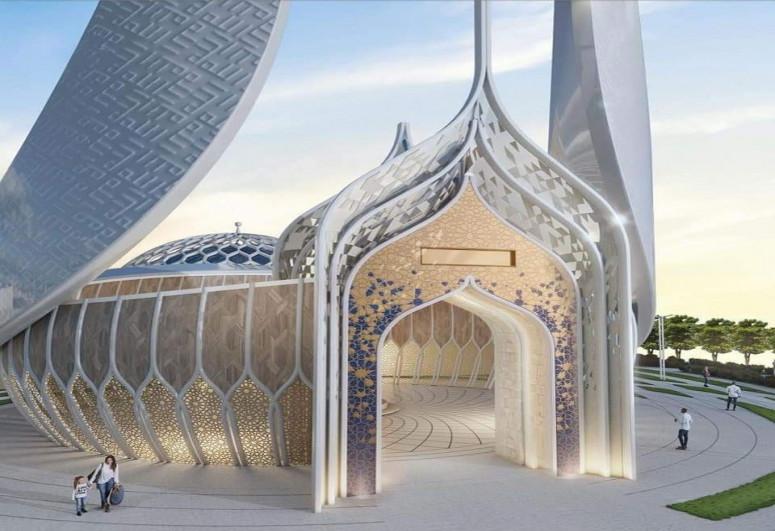 Обнародован проект нового комплекса мечети в Шуше -<span class=