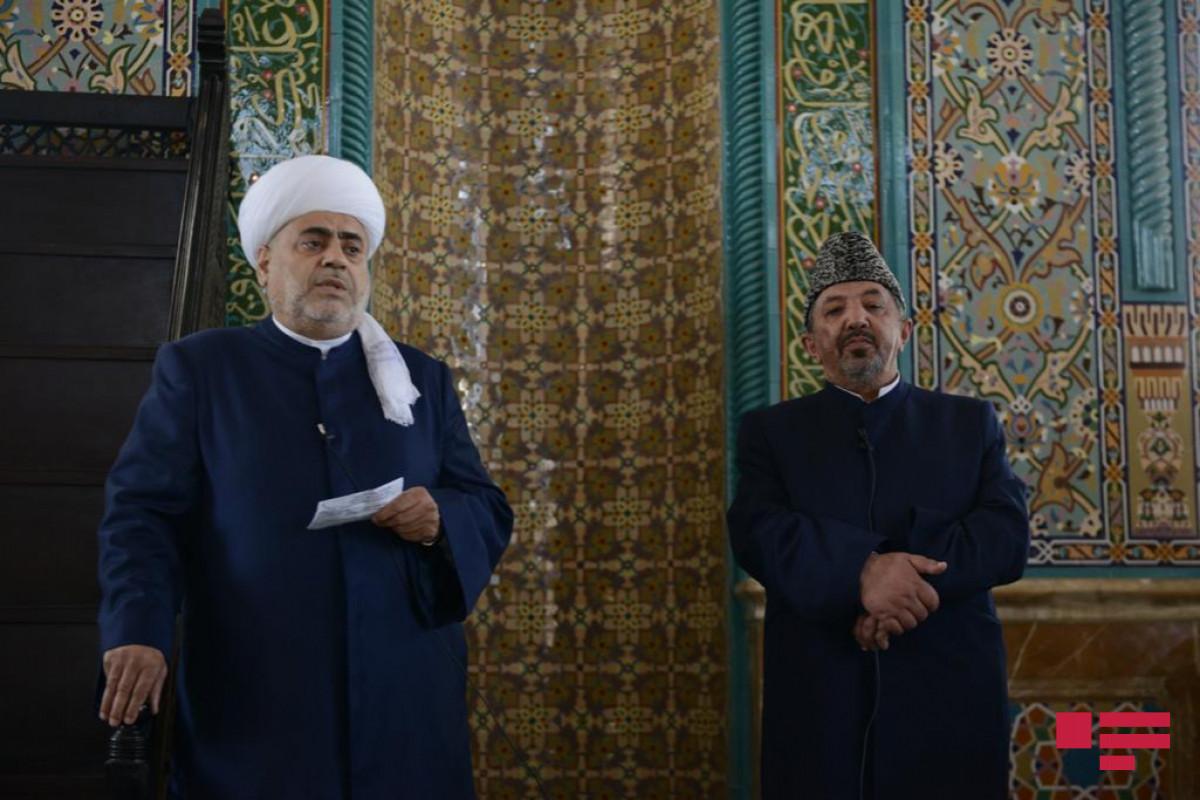 """Hacı Salman Musayev: """"Xəstəliyin qarşısını almaq üçün bir-birimizi qorumalıyıq"""""""