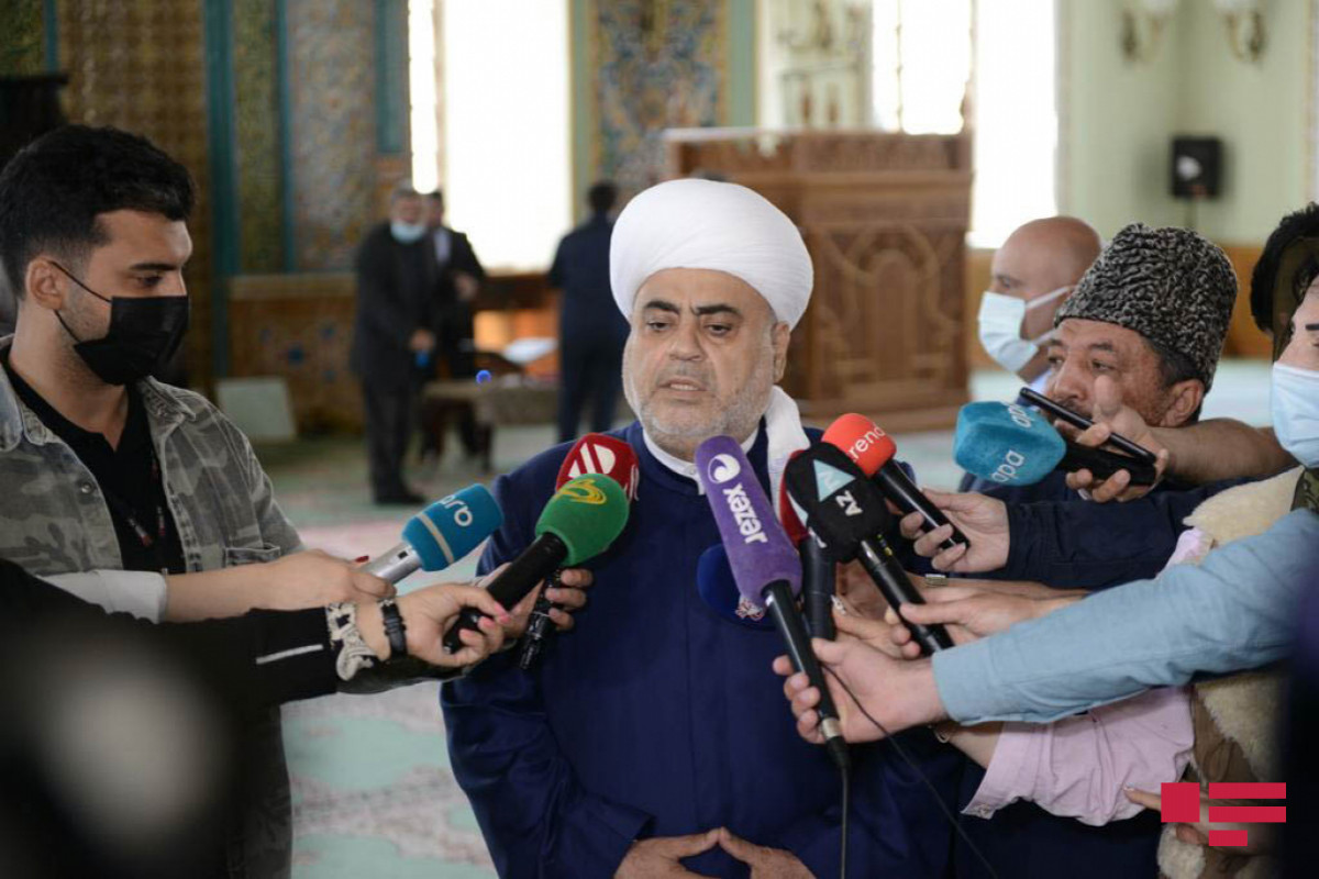"""Şeyxülislam: """"QMİ, dini konfessiyalar da erməni yalanlarına cavab verməlidir"""""""