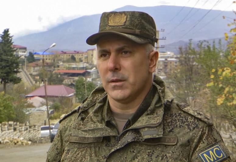СМИ: Командующий российскими миротворцами в Карабахе Рустам Мурадов будет заменен
