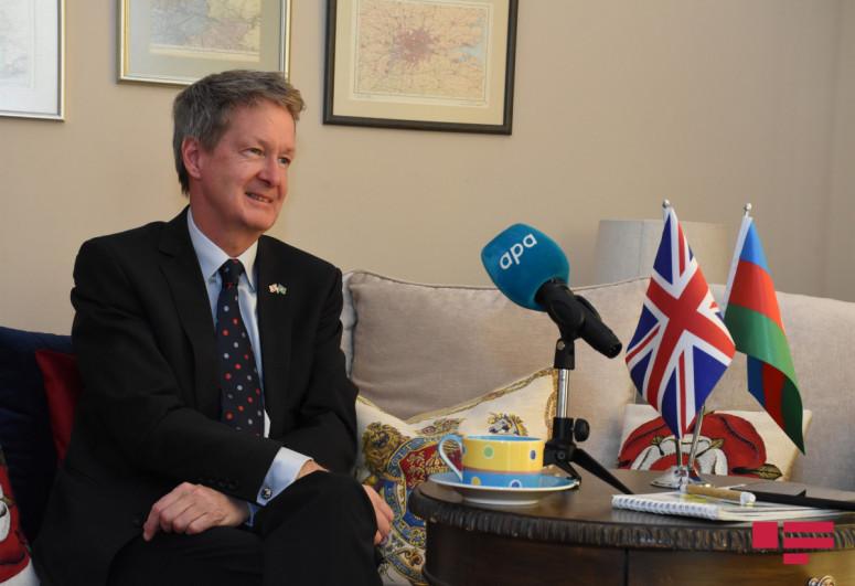 British ambassador congratulates Azerbaijani people on the occasion of Ramadan Holiday