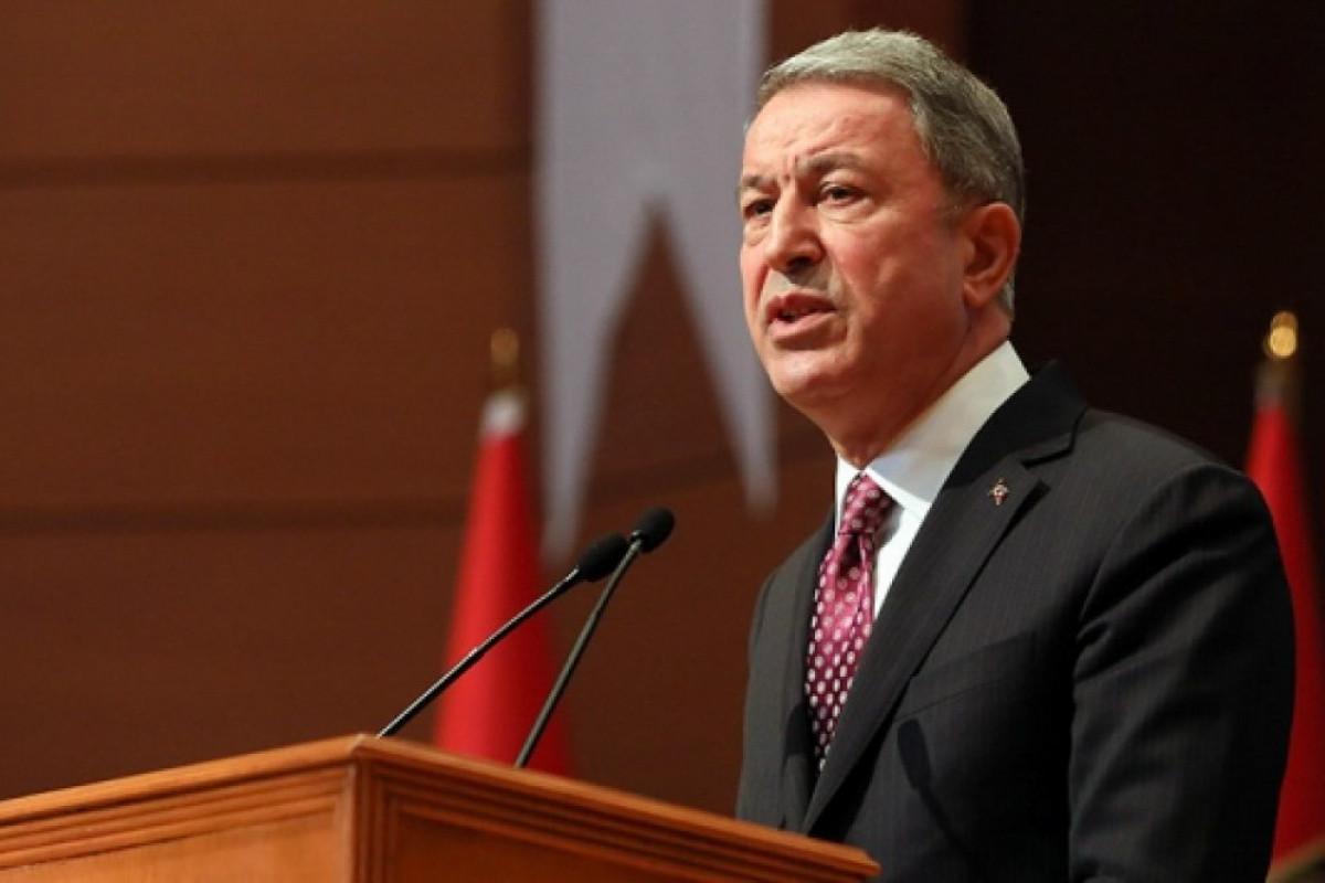 """Hulusi Akar: """"Türkiyə ordusu yanvar ayından indiyədək 1056 terrorçu zərərsizləşdirib"""""""