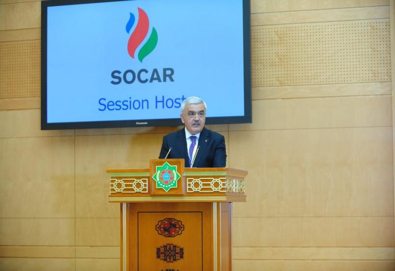 Президент SOCAR Ровнаг Абдуллаев обсудил с президентом Туркменистана совместную разработку месторождения «Достлуг»