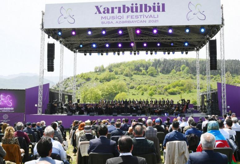 """""""Kharibulbul"""" music festival in Shusha ends-<span class="""