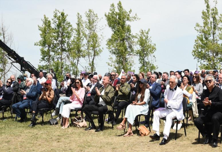 В Шуше завершился музыкальный фестиваль «Харыбюльбюль» - <span class=