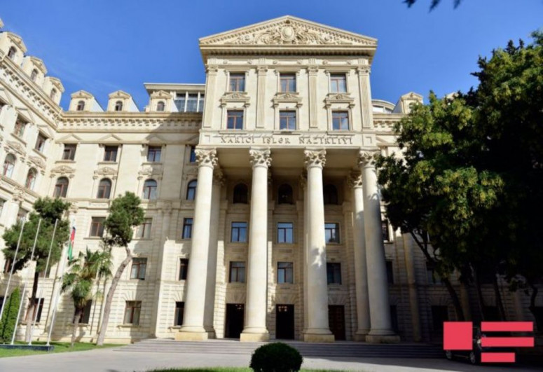 Azerbaijani Foreign Ministry issued a statement on the situation on the border with Armenia