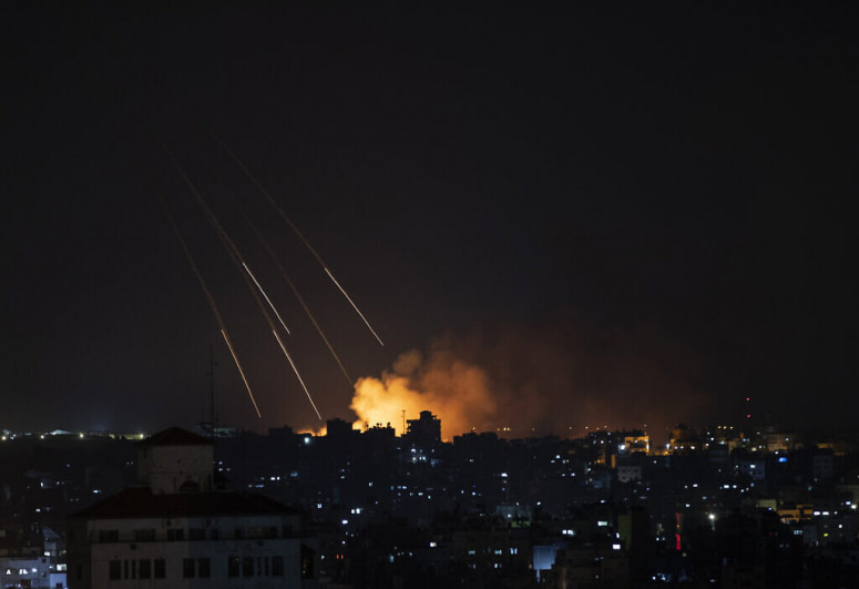 Rockets continue to pummel Israel's south after night of intense fighting