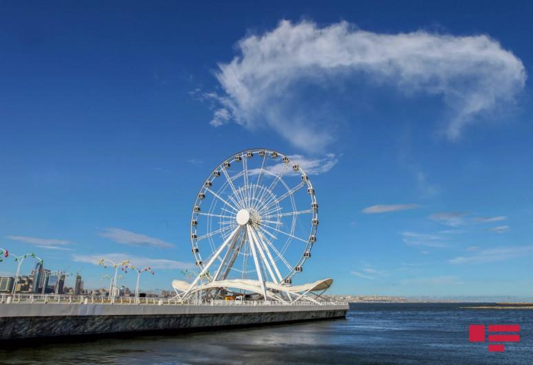 Завтра в Баку воздух прогреется до 29 градусов