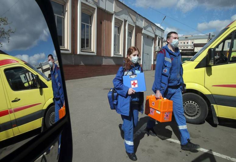 Russia reports 9,462 daily COVID-19 cases