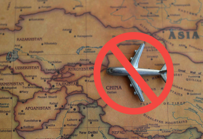 China cancels 487 inbound flights over COVID-19 concerns