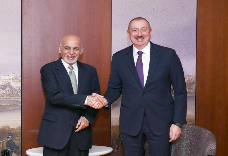 Afghan President makes phone call President Ilham Aliyev