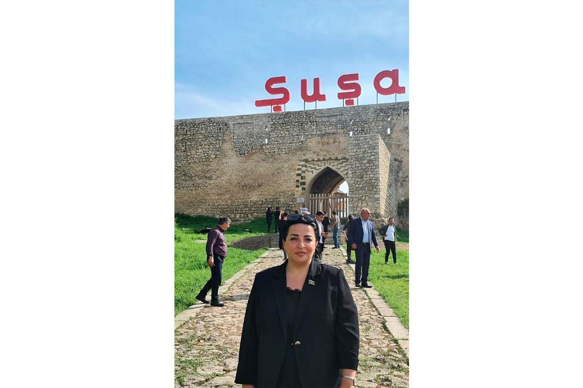"""Deputat: """"Şuşada keçirilən musiqi festivalında iştirak etməkdən qürurluyam"""""""
